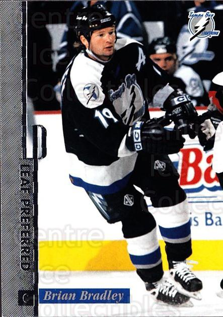1996-97 Leaf Preferred #18 Brian Bradley<br/>4 In Stock - $1.00 each - <a href=https://centericecollectibles.foxycart.com/cart?name=1996-97%20Leaf%20Preferred%20%2318%20Brian%20Bradley...&quantity_max=4&price=$1.00&code=49517 class=foxycart> Buy it now! </a>