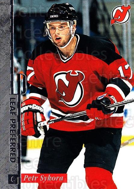1996-97 Leaf Preferred #21 Petr Sykora<br/>2 In Stock - $1.00 each - <a href=https://centericecollectibles.foxycart.com/cart?name=1996-97%20Leaf%20Preferred%20%2321%20Petr%20Sykora...&quantity_max=2&price=$1.00&code=49521 class=foxycart> Buy it now! </a>