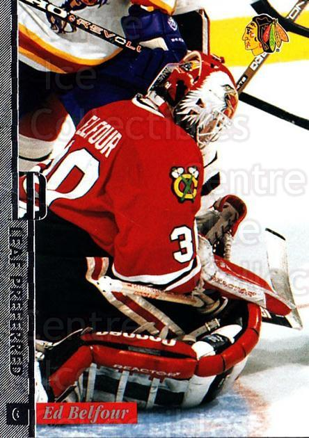 1996-97 Leaf Preferred #30 Ed Belfour<br/>1 In Stock - $1.00 each - <a href=https://centericecollectibles.foxycart.com/cart?name=1996-97%20Leaf%20Preferred%20%2330%20Ed%20Belfour...&price=$1.00&code=49531 class=foxycart> Buy it now! </a>