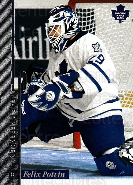 1996-97 Leaf Preferred #36 Felix Potvin<br/>3 In Stock - $1.00 each - <a href=https://centericecollectibles.foxycart.com/cart?name=1996-97%20Leaf%20Preferred%20%2336%20Felix%20Potvin...&quantity_max=3&price=$1.00&code=49536 class=foxycart> Buy it now! </a>