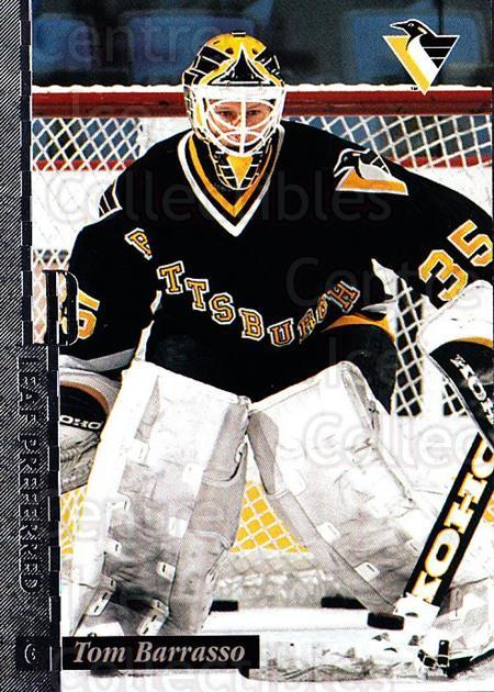1996-97 Leaf Preferred #46 Tom Barrasso<br/>2 In Stock - $1.00 each - <a href=https://centericecollectibles.foxycart.com/cart?name=1996-97%20Leaf%20Preferred%20%2346%20Tom%20Barrasso...&price=$1.00&code=49547 class=foxycart> Buy it now! </a>