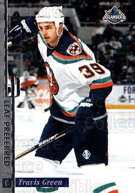 1996-97 Leaf Preferred #5 Travis Green<br/>3 In Stock - $1.00 each - <a href=https://centericecollectibles.foxycart.com/cart?name=1996-97%20Leaf%20Preferred%20%235%20Travis%20Green...&quantity_max=3&price=$1.00&code=49551 class=foxycart> Buy it now! </a>