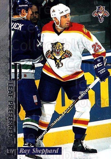 1996-97 Leaf Preferred #92 Ray Sheppard<br/>4 In Stock - $1.00 each - <a href=https://centericecollectibles.foxycart.com/cart?name=1996-97%20Leaf%20Preferred%20%2392%20Ray%20Sheppard...&quantity_max=4&price=$1.00&code=49595 class=foxycart> Buy it now! </a>