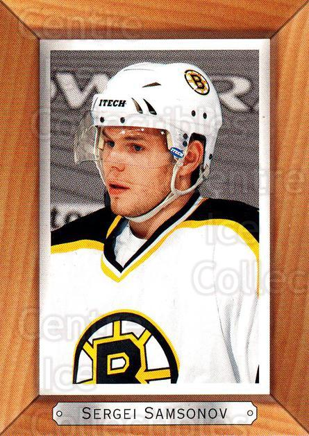 2003-04 Beehive Variations #21 Sergei Samsonov<br/>2 In Stock - $3.00 each - <a href=https://centericecollectibles.foxycart.com/cart?name=2003-04%20Beehive%20Variations%20%2321%20Sergei%20Samsonov...&quantity_max=2&price=$3.00&code=496078 class=foxycart> Buy it now! </a>