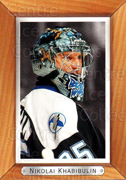 2003-04 Beehive Variations #174 Nikolai Khabibulin<br/>1 In Stock - $3.00 each - <a href=https://centericecollectibles.foxycart.com/cart?name=2003-04%20Beehive%20Variations%20%23174%20Nikolai%20Khabibu...&quantity_max=1&price=$3.00&code=496105 class=foxycart> Buy it now! </a>