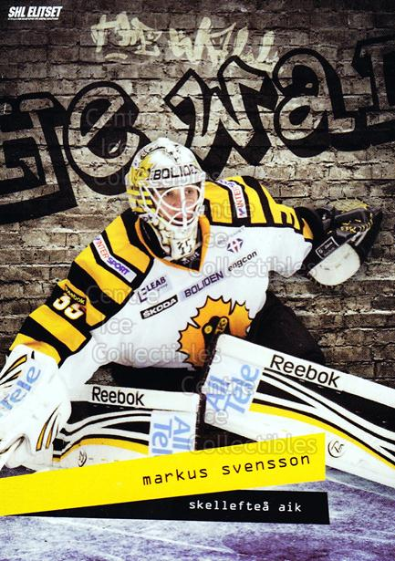 2012-13 Swedish Elitset The Wall Series Two #9 Markus Svensson<br/>3 In Stock - $3.00 each - <a href=https://centericecollectibles.foxycart.com/cart?name=2012-13%20Swedish%20Elitset%20The%20Wall%20Series%20Two%20%239%20Markus%20Svensson...&quantity_max=3&price=$3.00&code=496116 class=foxycart> Buy it now! </a>