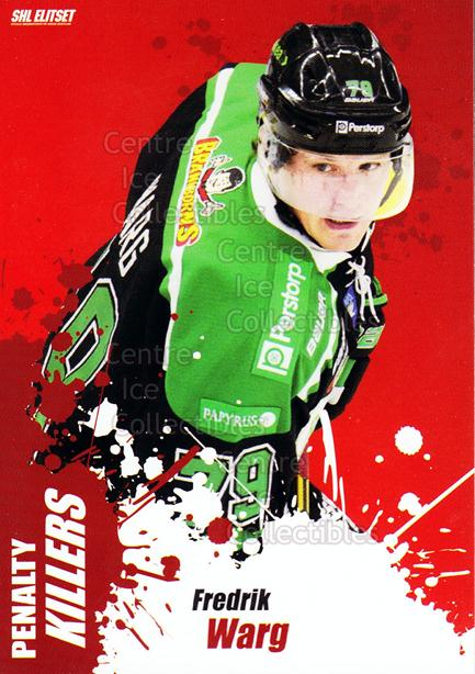 2012-13 Swedish Elitset Penalty Killers #9 Fredrik Warg<br/>1 In Stock - $3.00 each - <a href=https://centericecollectibles.foxycart.com/cart?name=2012-13%20Swedish%20Elitset%20Penalty%20Killers%20%239%20Fredrik%20Warg...&quantity_max=1&price=$3.00&code=496152 class=foxycart> Buy it now! </a>