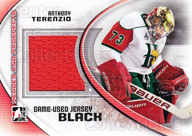 2011-12 ITG Heroes and Prospects Jersey Black #26 Anthony Terenzio<br/>1 In Stock - $5.00 each - <a href=https://centericecollectibles.foxycart.com/cart?name=2011-12%20ITG%20Heroes%20and%20Prospects%20Jersey%20Black%20%2326%20Anthony%20Terenzi...&quantity_max=1&price=$5.00&code=496585 class=foxycart> Buy it now! </a>