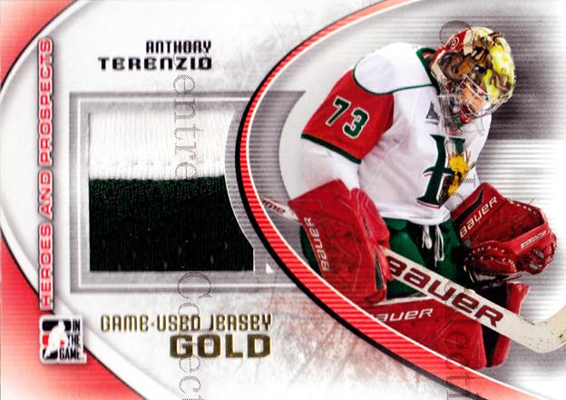 2011-12 ITG Heroes and Prospects Jersey Gold #26 Anthony Terenzio<br/>1 In Stock - $15.00 each - <a href=https://centericecollectibles.foxycart.com/cart?name=2011-12%20ITG%20Heroes%20and%20Prospects%20Jersey%20Gold%20%2326%20Anthony%20Terenzi...&quantity_max=1&price=$15.00&code=496641 class=foxycart> Buy it now! </a>