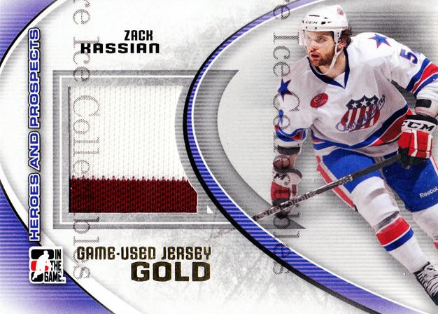 2011-12 ITG Heroes and Prospects Jersey Gold #46 Zack Kassian<br/>1 In Stock - $15.00 each - <a href=https://centericecollectibles.foxycart.com/cart?name=2011-12%20ITG%20Heroes%20and%20Prospects%20Jersey%20Gold%20%2346%20Zack%20Kassian...&quantity_max=1&price=$15.00&code=496661 class=foxycart> Buy it now! </a>