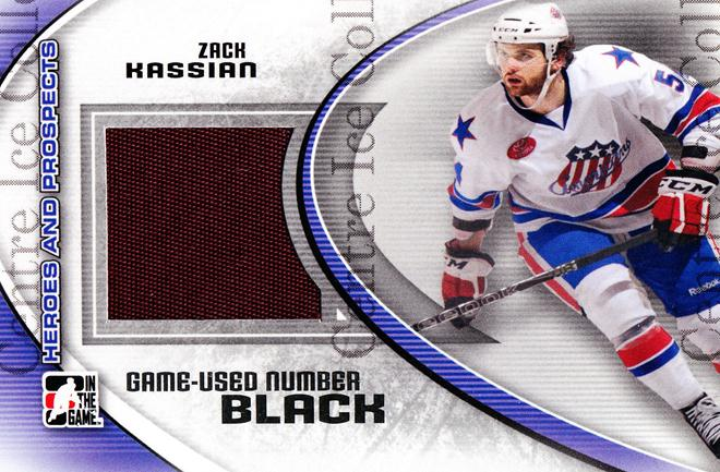 2011-12 ITG Heroes and Prospects Number Black #46 Zack Kassian<br/>1 In Stock - $15.00 each - <a href=https://centericecollectibles.foxycart.com/cart?name=2011-12%20ITG%20Heroes%20and%20Prospects%20Number%20Black%20%2346%20Zack%20Kassian...&quantity_max=1&price=$15.00&code=496717 class=foxycart> Buy it now! </a>