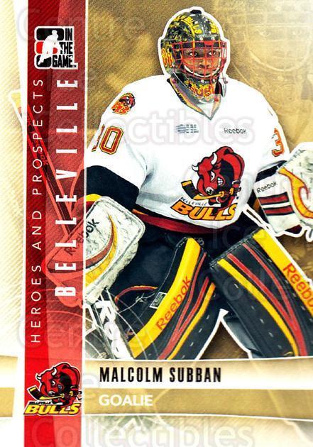 Center Ice Collectibles Malcolm Subban Hockey Cards