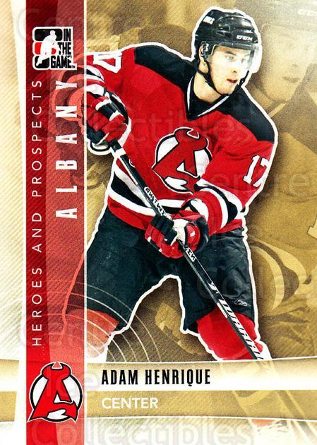 2011-12 ITG Heroes and Prospects #103 Adam Henrique<br/>5 In Stock - $1.00 each - <a href=https://centericecollectibles.foxycart.com/cart?name=2011-12%20ITG%20Heroes%20and%20Prospects%20%23103%20Adam%20Henrique...&quantity_max=5&price=$1.00&code=496952 class=foxycart> Buy it now! </a>
