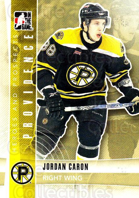 2011-12 ITG Heroes and Prospects #120 Jordan Caron<br/>1 In Stock - $1.00 each - <a href=https://centericecollectibles.foxycart.com/cart?name=2011-12%20ITG%20Heroes%20and%20Prospects%20%23120%20Jordan%20Caron...&quantity_max=1&price=$1.00&code=496969 class=foxycart> Buy it now! </a>