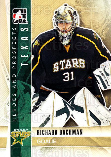 2011-12 ITG Heroes and Prospects #130 Richard Bachman<br/>4 In Stock - $1.00 each - <a href=https://centericecollectibles.foxycart.com/cart?name=2011-12%20ITG%20Heroes%20and%20Prospects%20%23130%20Richard%20Bachman...&quantity_max=4&price=$1.00&code=496979 class=foxycart> Buy it now! </a>
