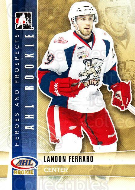 2011-12 ITG Heroes and Prospects #145 Landon Ferraro<br/>5 In Stock - $1.00 each - <a href=https://centericecollectibles.foxycart.com/cart?name=2011-12%20ITG%20Heroes%20and%20Prospects%20%23145%20Landon%20Ferraro...&price=$1.00&code=496994 class=foxycart> Buy it now! </a>