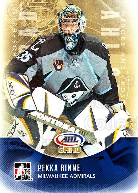 2011-12 ITG Heroes and Prospects #176 Pekka Rinne<br/>5 In Stock - $1.00 each - <a href=https://centericecollectibles.foxycart.com/cart?name=2011-12%20ITG%20Heroes%20and%20Prospects%20%23176%20Pekka%20Rinne...&quantity_max=5&price=$1.00&code=497025 class=foxycart> Buy it now! </a>
