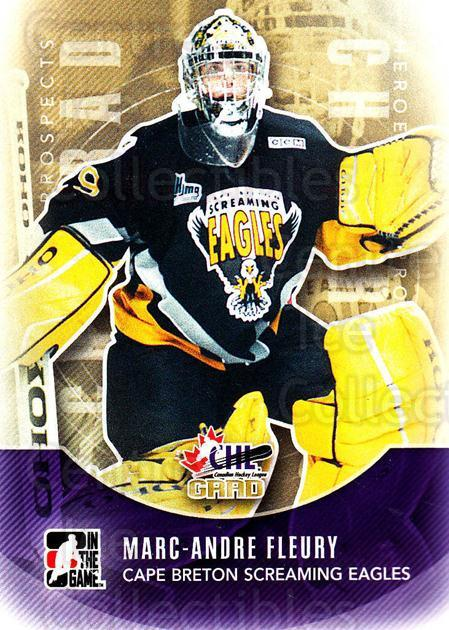 2011-12 ITG Heroes and Prospects #181 Marc-Andre Fleury<br/>5 In Stock - $2.00 each - <a href=https://centericecollectibles.foxycart.com/cart?name=2011-12%20ITG%20Heroes%20and%20Prospects%20%23181%20Marc-Andre%20Fleu...&quantity_max=5&price=$2.00&code=497030 class=foxycart> Buy it now! </a>