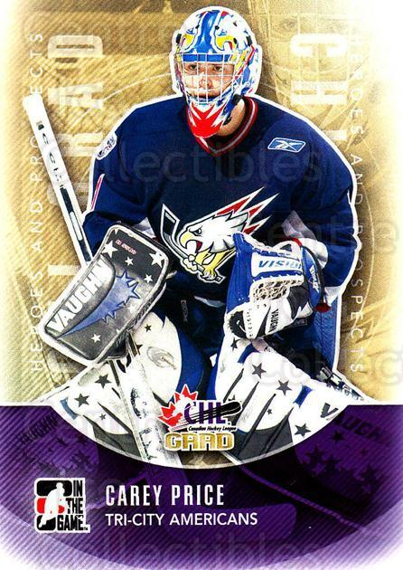 2011-12 ITG Heroes and Prospects #188 Carey Price<br/>1 In Stock - $1.00 each - <a href=https://centericecollectibles.foxycart.com/cart?name=2011-12%20ITG%20Heroes%20and%20Prospects%20%23188%20Carey%20Price...&price=$1.00&code=497037 class=foxycart> Buy it now! </a>
