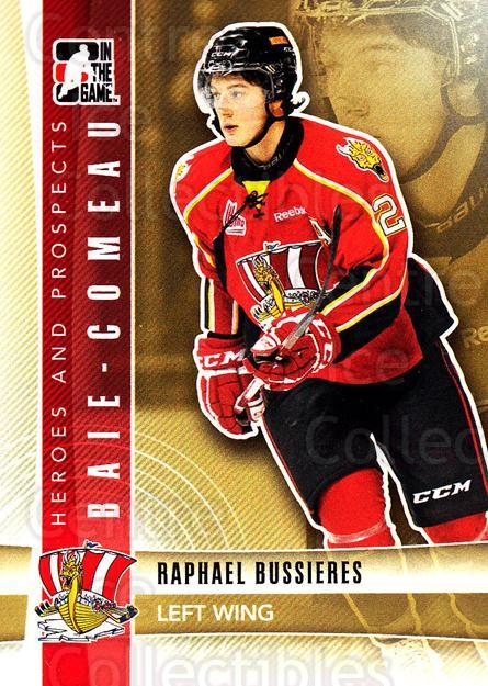 2011-12 ITG Heroes and Prospects #240 Raphael Bussieres<br/>3 In Stock - $1.00 each - <a href=https://centericecollectibles.foxycart.com/cart?name=2011-12%20ITG%20Heroes%20and%20Prospects%20%23240%20Raphael%20Bussier...&quantity_max=3&price=$1.00&code=497089 class=foxycart> Buy it now! </a>