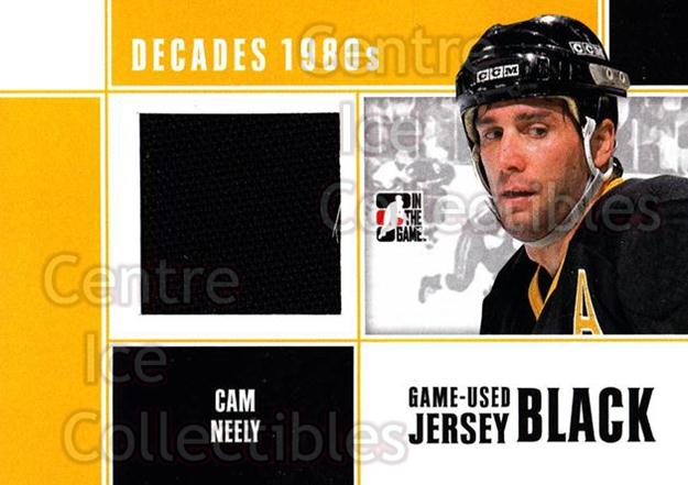 2010-11 ITG Decades 1980s Jersey Black #15 Cam Neely<br/>1 In Stock - $10.00 each - <a href=https://centericecollectibles.foxycart.com/cart?name=2010-11%20ITG%20Decades%201980s%20Jersey%20Black%20%2315%20Cam%20Neely...&quantity_max=1&price=$10.00&code=497114 class=foxycart> Buy it now! </a>