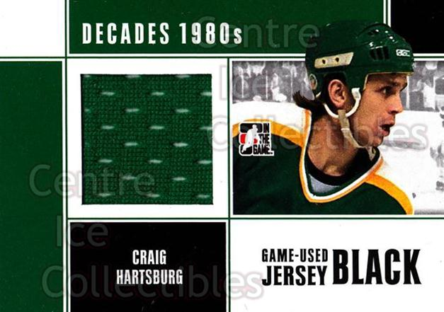 2010-11 ITG Decades 1980s Jersey Black #17 Craig Hartsburg<br/>1 In Stock - $10.00 each - <a href=https://centericecollectibles.foxycart.com/cart?name=2010-11%20ITG%20Decades%201980s%20Jersey%20Black%20%2317%20Craig%20Hartsburg...&quantity_max=1&price=$10.00&code=497116 class=foxycart> Buy it now! </a>