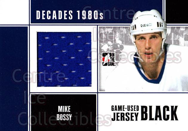 2010-11 ITG Decades 1980s Jersey Black #43 Mike Bossy<br/>2 In Stock - $5.00 each - <a href=https://centericecollectibles.foxycart.com/cart?name=2010-11%20ITG%20Decades%201980s%20Jersey%20Black%20%2343%20Mike%20Bossy...&price=$5.00&code=497142 class=foxycart> Buy it now! </a>