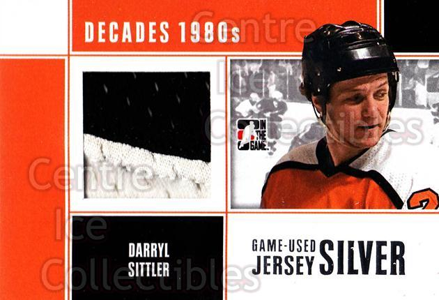 2010-11 ITG Decades 1980s Jersey Silver #21 Darryl Sittler<br/>1 In Stock - $10.00 each - <a href=https://centericecollectibles.foxycart.com/cart?name=2010-11%20ITG%20Decades%201980s%20Jersey%20Silver%20%2321%20Darryl%20Sittler...&quantity_max=1&price=$10.00&code=497195 class=foxycart> Buy it now! </a>