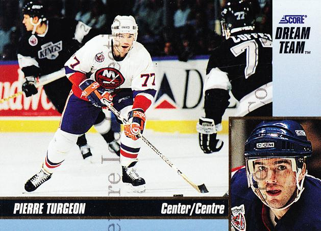 1993-94 Score Dream Team #15 Pierre Turgeon<br/>6 In Stock - $3.00 each - <a href=https://centericecollectibles.foxycart.com/cart?name=1993-94%20Score%20Dream%20Team%20%2315%20Pierre%20Turgeon...&quantity_max=6&price=$3.00&code=4982 class=foxycart> Buy it now! </a>