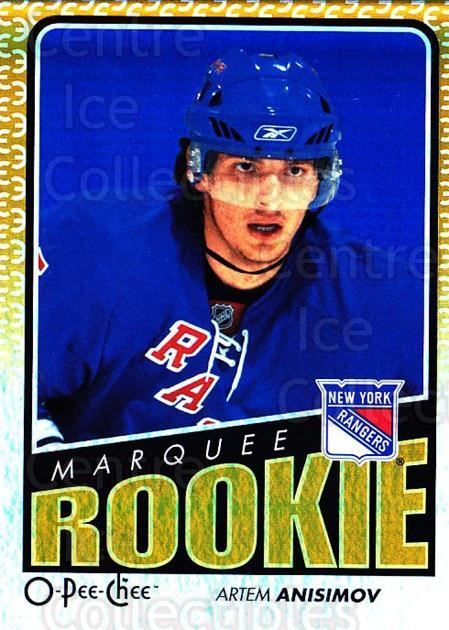 2009-10 O-pee-chee Rainbow #547 Artem Anisimov<br/>2 In Stock - $3.00 each - <a href=https://centericecollectibles.foxycart.com/cart?name=2009-10%20O-pee-chee%20Rainbow%20%23547%20Artem%20Anisimov...&quantity_max=2&price=$3.00&code=499070 class=foxycart> Buy it now! </a>
