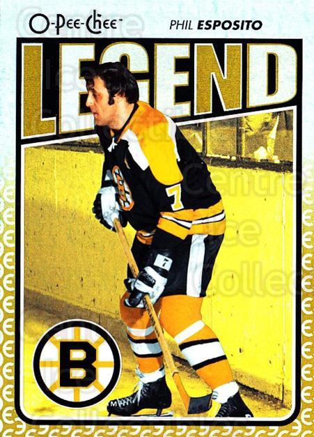 2009-10 O-pee-chee Rainbow #584 Phil Esposito<br/>2 In Stock - $3.00 each - <a href=https://centericecollectibles.foxycart.com/cart?name=2009-10%20O-pee-chee%20Rainbow%20%23584%20Phil%20Esposito...&quantity_max=2&price=$3.00&code=499107 class=foxycart> Buy it now! </a>