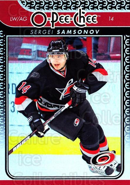 2009-10 O-pee-chee Rainbow #4 Sergei Samsonov<br/>2 In Stock - $2.00 each - <a href=https://centericecollectibles.foxycart.com/cart?name=2009-10%20O-pee-chee%20Rainbow%20%234%20Sergei%20Samsonov...&quantity_max=2&price=$2.00&code=499165 class=foxycart> Buy it now! </a>