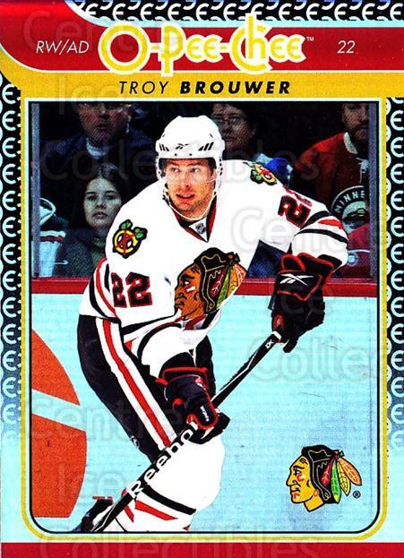 2009-10 O-pee-chee Rainbow #5 Troy Brouwer<br/>2 In Stock - $2.00 each - <a href=https://centericecollectibles.foxycart.com/cart?name=2009-10%20O-pee-chee%20Rainbow%20%235%20Troy%20Brouwer...&quantity_max=2&price=$2.00&code=499166 class=foxycart> Buy it now! </a>