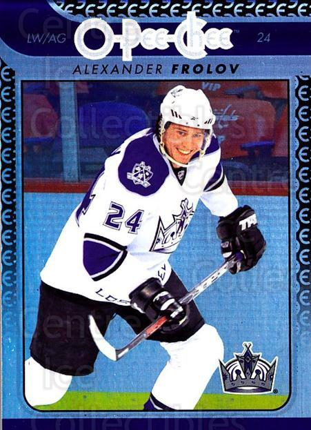 2009-10 O-pee-chee Rainbow #9 Alexander Frolov<br/>2 In Stock - $2.00 each - <a href=https://centericecollectibles.foxycart.com/cart?name=2009-10%20O-pee-chee%20Rainbow%20%239%20Alexander%20Frolo...&quantity_max=2&price=$2.00&code=499170 class=foxycart> Buy it now! </a>