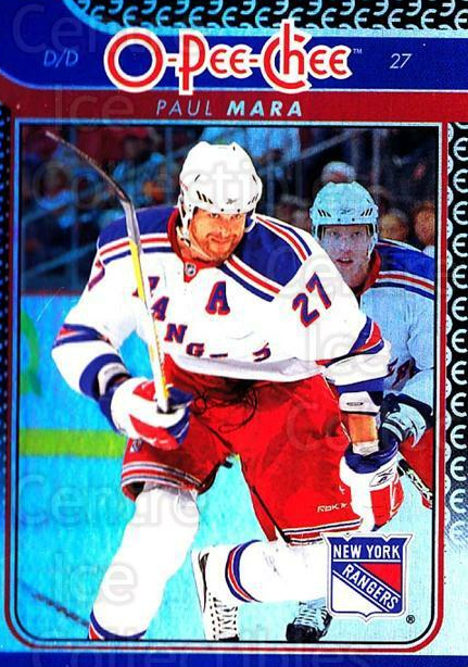 2009-10 O-pee-chee Rainbow #12 Paul Mara<br/>2 In Stock - $2.00 each - <a href=https://centericecollectibles.foxycart.com/cart?name=2009-10%20O-pee-chee%20Rainbow%20%2312%20Paul%20Mara...&quantity_max=2&price=$2.00&code=499173 class=foxycart> Buy it now! </a>