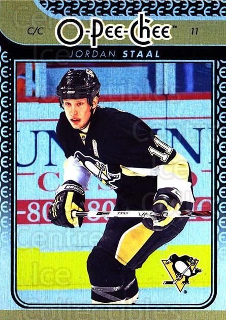 2009-10 O-pee-chee Rainbow #14 Jordan Staal<br/>2 In Stock - $2.00 each - <a href=https://centericecollectibles.foxycart.com/cart?name=2009-10%20O-pee-chee%20Rainbow%20%2314%20Jordan%20Staal...&quantity_max=2&price=$2.00&code=499175 class=foxycart> Buy it now! </a>