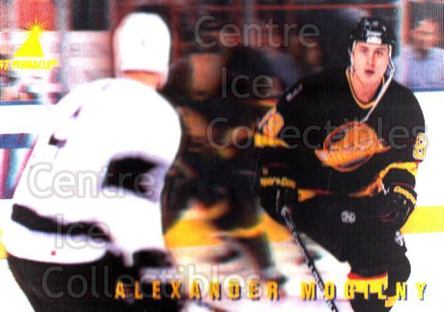 1996-97 McDonalds Pinnacle #11 Alexander Mogilny<br/>8 In Stock - $1.00 each - <a href=https://centericecollectibles.foxycart.com/cart?name=1996-97%20McDonalds%20Pinnacle%20%2311%20Alexander%20Mogil...&quantity_max=8&price=$1.00&code=49917 class=foxycart> Buy it now! </a>