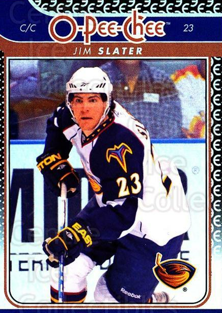 2009-10 O-pee-chee Rainbow #20 Jim Slater<br/>2 In Stock - $2.00 each - <a href=https://centericecollectibles.foxycart.com/cart?name=2009-10%20O-pee-chee%20Rainbow%20%2320%20Jim%20Slater...&quantity_max=2&price=$2.00&code=499181 class=foxycart> Buy it now! </a>