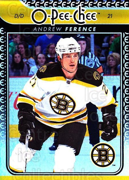 2009-10 O-pee-chee Rainbow #21 Andrew Ference<br/>2 In Stock - $2.00 each - <a href=https://centericecollectibles.foxycart.com/cart?name=2009-10%20O-pee-chee%20Rainbow%20%2321%20Andrew%20Ference...&quantity_max=2&price=$2.00&code=499182 class=foxycart> Buy it now! </a>