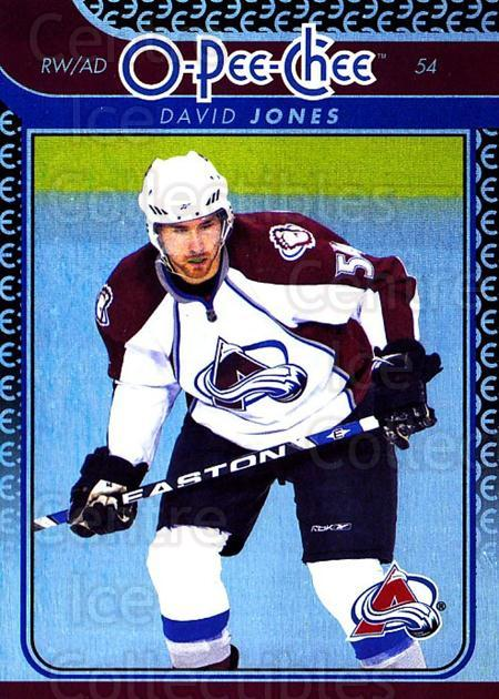2009-10 O-pee-chee Rainbow #24 David Jones<br/>2 In Stock - $2.00 each - <a href=https://centericecollectibles.foxycart.com/cart?name=2009-10%20O-pee-chee%20Rainbow%20%2324%20David%20Jones...&quantity_max=2&price=$2.00&code=499185 class=foxycart> Buy it now! </a>