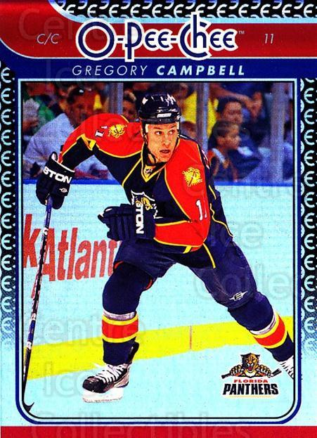 2009-10 O-pee-chee Rainbow #27 Gregory Campbell<br/>2 In Stock - $2.00 each - <a href=https://centericecollectibles.foxycart.com/cart?name=2009-10%20O-pee-chee%20Rainbow%20%2327%20Gregory%20Campbel...&quantity_max=2&price=$2.00&code=499188 class=foxycart> Buy it now! </a>