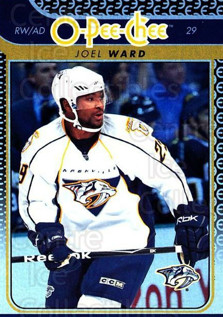 2009-10 O-pee-chee Rainbow #38 Joel Ward<br/>2 In Stock - $2.00 each - <a href=https://centericecollectibles.foxycart.com/cart?name=2009-10%20O-pee-chee%20Rainbow%20%2338%20Joel%20Ward...&quantity_max=2&price=$2.00&code=499199 class=foxycart> Buy it now! </a>