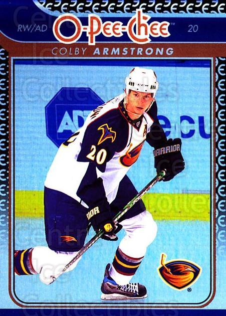 2009-10 O-pee-chee Rainbow #39 Colby Armstrong<br/>2 In Stock - $2.00 each - <a href=https://centericecollectibles.foxycart.com/cart?name=2009-10%20O-pee-chee%20Rainbow%20%2339%20Colby%20Armstrong...&quantity_max=2&price=$2.00&code=499200 class=foxycart> Buy it now! </a>