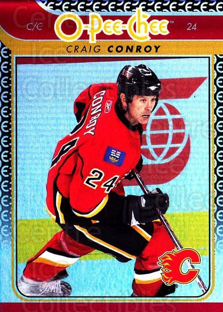 2009-10 O-pee-chee Rainbow #41 Craig Conroy<br/>2 In Stock - $2.00 each - <a href=https://centericecollectibles.foxycart.com/cart?name=2009-10%20O-pee-chee%20Rainbow%20%2341%20Craig%20Conroy...&quantity_max=2&price=$2.00&code=499202 class=foxycart> Buy it now! </a>