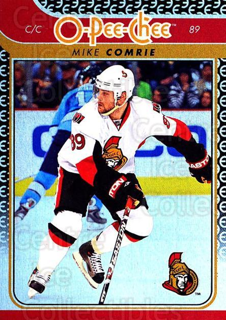 2009-10 O-pee-chee Rainbow #42 Mike Comrie<br/>2 In Stock - $2.00 each - <a href=https://centericecollectibles.foxycart.com/cart?name=2009-10%20O-pee-chee%20Rainbow%20%2342%20Mike%20Comrie...&quantity_max=2&price=$2.00&code=499203 class=foxycart> Buy it now! </a>