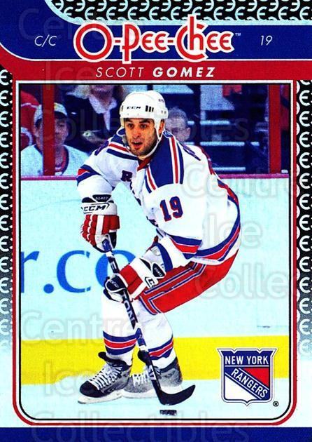2009-10 O-pee-chee Rainbow #50 Scott Gomez<br/>2 In Stock - $2.00 each - <a href=https://centericecollectibles.foxycart.com/cart?name=2009-10%20O-pee-chee%20Rainbow%20%2350%20Scott%20Gomez...&quantity_max=2&price=$2.00&code=499211 class=foxycart> Buy it now! </a>
