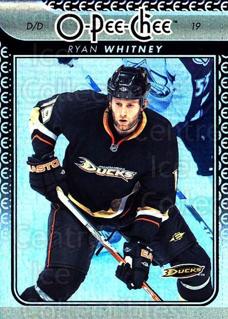2009-10 O-pee-chee Rainbow #53 Ryan Whitney<br/>2 In Stock - $2.00 each - <a href=https://centericecollectibles.foxycart.com/cart?name=2009-10%20O-pee-chee%20Rainbow%20%2353%20Ryan%20Whitney...&quantity_max=2&price=$2.00&code=499214 class=foxycart> Buy it now! </a>