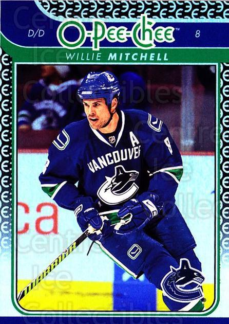 2009-10 O-pee-chee Rainbow #56 Willie Mitchell<br/>2 In Stock - $2.00 each - <a href=https://centericecollectibles.foxycart.com/cart?name=2009-10%20O-pee-chee%20Rainbow%20%2356%20Willie%20Mitchell...&quantity_max=2&price=$2.00&code=499217 class=foxycart> Buy it now! </a>
