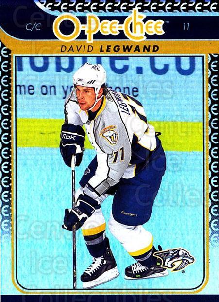 2009-10 O-pee-chee Rainbow #57 David Legwand<br/>2 In Stock - $2.00 each - <a href=https://centericecollectibles.foxycart.com/cart?name=2009-10%20O-pee-chee%20Rainbow%20%2357%20David%20Legwand...&quantity_max=2&price=$2.00&code=499218 class=foxycart> Buy it now! </a>