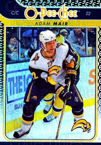 2009-10 O-pee-chee Rainbow #60 Adam Mair<br/>2 In Stock - $2.00 each - <a href=https://centericecollectibles.foxycart.com/cart?name=2009-10%20O-pee-chee%20Rainbow%20%2360%20Adam%20Mair...&quantity_max=2&price=$2.00&code=499221 class=foxycart> Buy it now! </a>